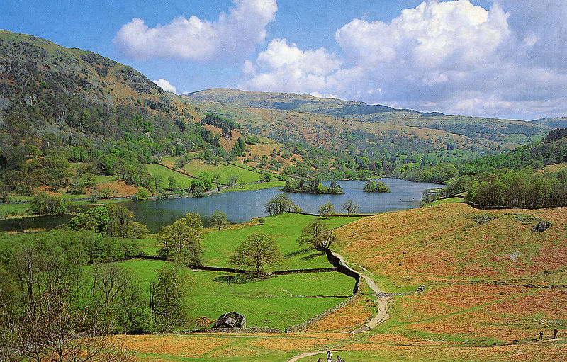 Rydale Water in the English Lake District